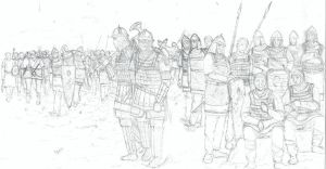 Eastern Roman Infantry by EmirHamam
