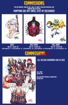 Commissions SALES chart by Manu-G