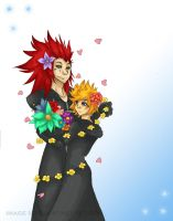 AkuRoku 100 - Flowers by enidfreyr