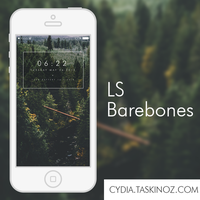 LS Barebones - A LockScreen widget for iOS by taskinoz