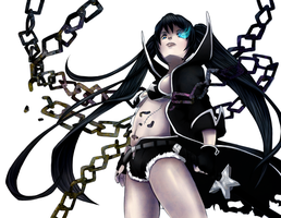 Black Rock Shooter by MzzAzn