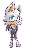 Rouge the bat by AleTheDog1