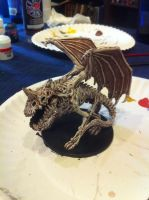 Dracolich Figure Painting by ProdigyDuck