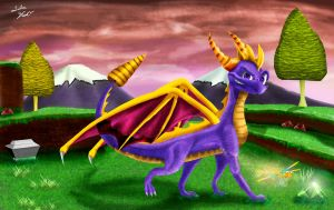 Classic Spyro_Teen Years by Tsitra360