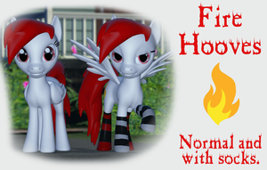 Fire Hooves by Neros1990
