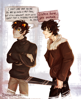 Karkat at his best by Demoniica