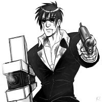 Trigun - Wolfwood by karaii