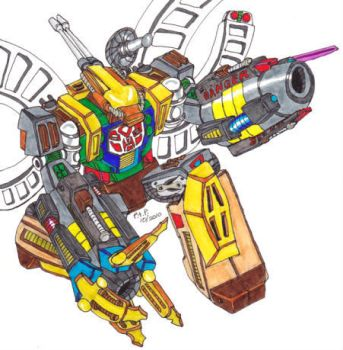 Classic Omega Supreme Robot by Pierrimus