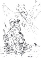 Soldiers and Saints by dragonsamurai7
