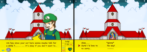 Luigi-interaction by 12luigi