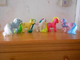 my little pony collection: movie star ponies UK by theladyinred002