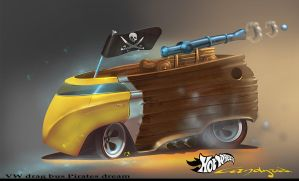 Hot Wheels VW ''Pirates Dream'' by candyrod