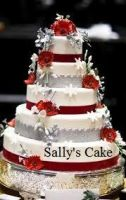 Sally's Wedding Cake. by HPandThe13GirlsPlus1