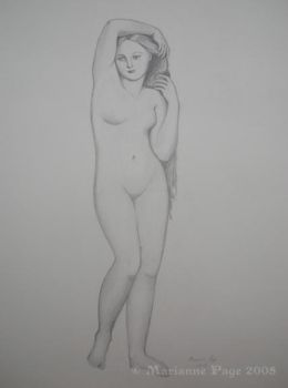Ingres Figure Study by seclusivebeauty
