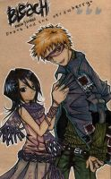 Bleach - IchiRuki by Hanesihiko