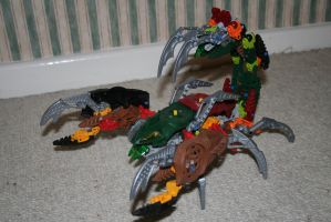 Bionicle MOC: Scorpion by Rahiden