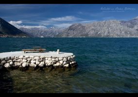 Winter in Boka Kotorska by godislove