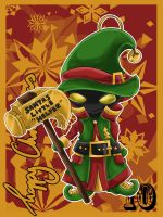 LoL Advent 2014 - Day 10 - Veigar by enchanted-enigma