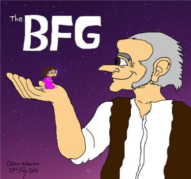 The BFG by omcgeachie