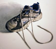 Old Sneaker by JessicaEdwards