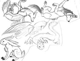 Animal Mixes 3 by x-EBee-x