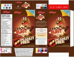 Cereal Box - Choco Blast by amitjakhu