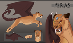 [Com] Piras Character Design by The-Hare