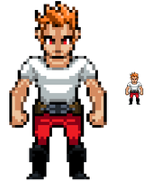 main character sprite by bienmexicano