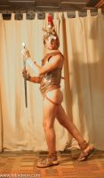 Roman Warrior Dressed 1av by TheMaleNudeStock