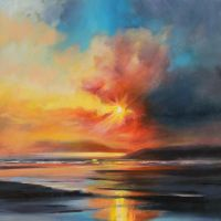 Emerging Sun by NaismithArt