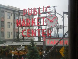 Pike Place Market by MartyWitch