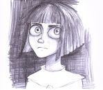 Fran Bow doodle by SmokingStories