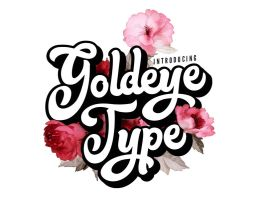 Goldeye Type by justliviu