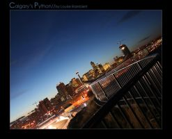 Calgary's Python by lovelylouise