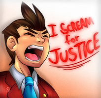 _I SCREAM FOR JUSTICE_ by The-Star-Hunter