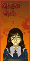 Silent Hill bookmarks - Alessa by MidoriEyes