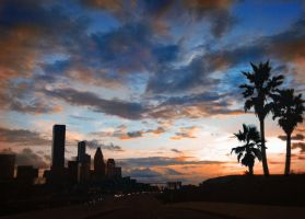 Houston Sunset by Zenfilm