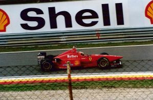Michael Schumacher, Ferrari, Estoril - 1996 by F1PAM
