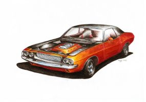 Dodge Challenger - Grizzly by Medvezh