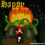 Happy Halloween 2014 gif pixel animation by XDemonitaX