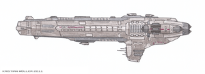 ESF OSAKA-CLASS Destroyer by MisterK91