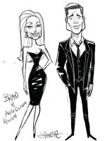 brad and angelina by stephensilver