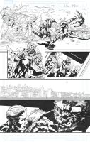 Secret Avengers sample page 22 by jakebilbao