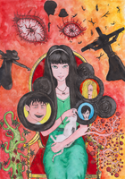 Itou Junji Fan Art (13 stories) by Kotovaska