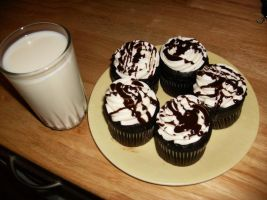 Chocolate Cupcakes by Nimhel