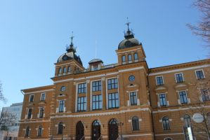Oulu city building by purstotahti