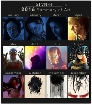 Summary of Art 2016 by stvn-h