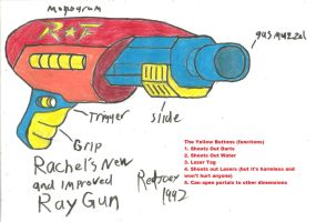 Rachel's New and Improved Ray Gun by RedJoey1992