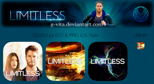 Limitless TV Series Icon by g-Vita