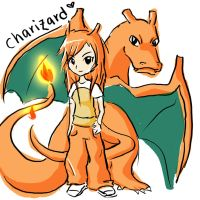 Moemon: Charizard by iloovedoggies